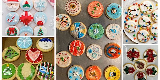 HOLIDAY COOKIE DECORATING -No Experience Needed ! (12 jumbo cookies)