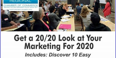 Monthly Marketing Morning: 20/20 Look at 2020 Marketing tickets