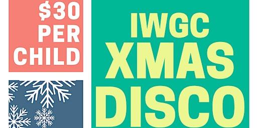 IWGC XMAS DISCO - 20/12/2019
