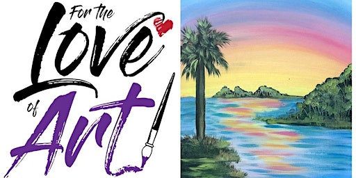 Paint and Sip Class (Discount Day): Colorful Sunset