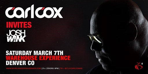 Carl Cox Warehouse Experience | Denver