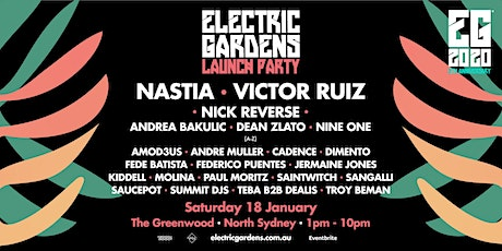 Electric Gardens Launch Party tickets