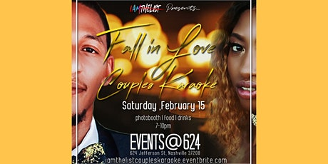 Valentine's Day Couple's Karaoke by I AM THE LIST tickets