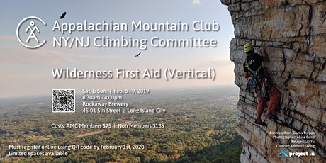 AMC Wilderness First Aid - Vertical tickets