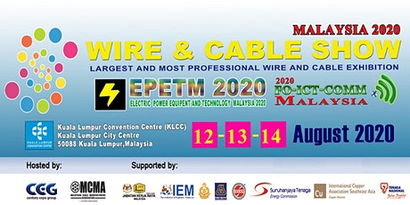 Wire And  Cable  Show Malaysia 2020 tickets