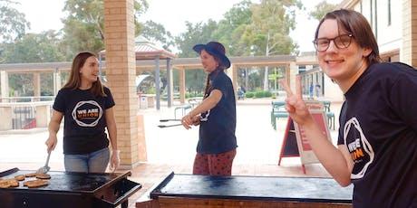 Respect is The Rule Hospo worker brekky BBQ tickets