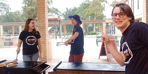 Respect is The Rule Hospo worker brekky BBQ