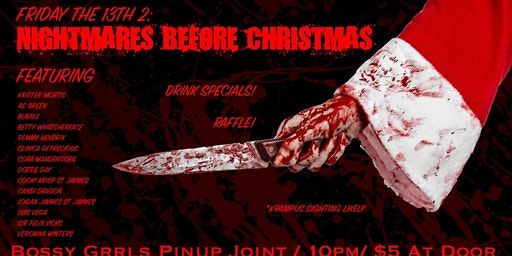 Friday the 13th: Nightmares Before Christmas