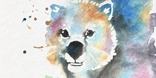School Holidays: Wombat Watercolours
