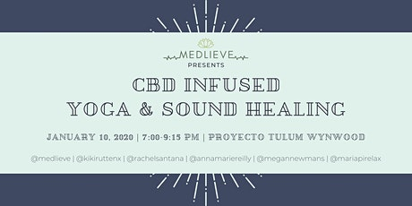 CBD Infused Yoga and Sound Healing tickets