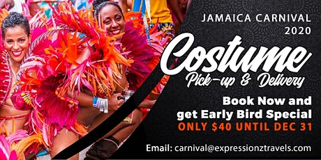 Jamaica Carnival 2020 Costume Pick-Up & Delivery tickets