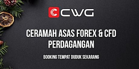 Ceramah Asas Forex dan CFD Perdagangan tickets