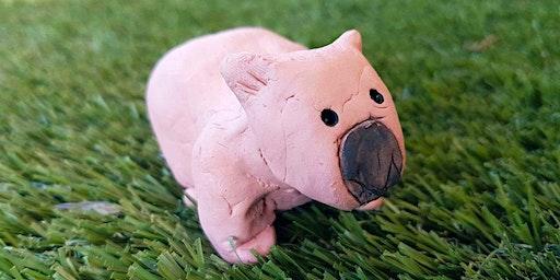 School Holidays: Clay Wombats