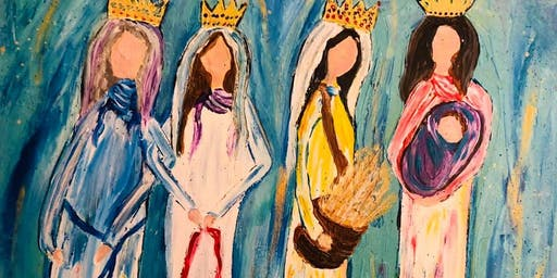 Paint for a Purpose Fundraiser - Four Adorned in Grace