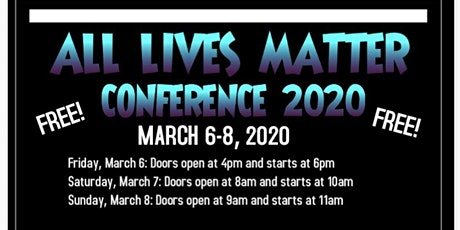 All Lives Matter Conference tickets