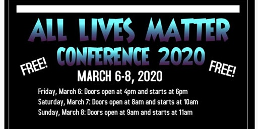 All Lives Matter Conference