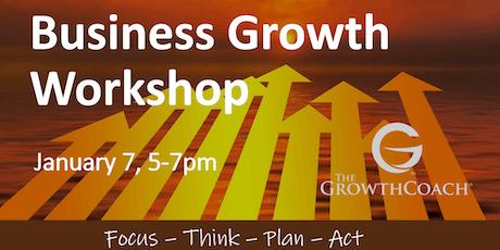 Business Growth Workshop 01/07/20 tickets
