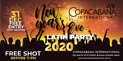 NYE Latin Party!