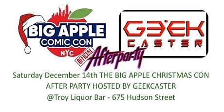Official Big Apple Christmas Con tickets