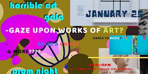Horrible Art Gala 2020: HAG PROM