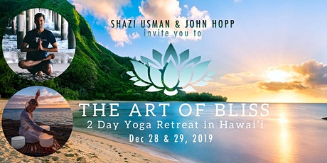 The Art of Bliss: 2 Day Yoga Retreat in Hawai'i tickets