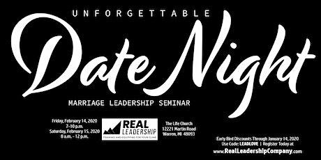Unforgettable Date Night: Marriage Leadership Seminar tickets