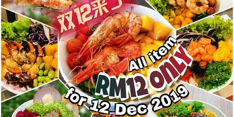 All Item RM12  for 12 Dec 2019 tickets