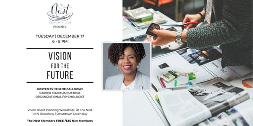 2020 Vision Board Workshop - Vision For The Future