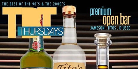 TBT AURUM THURSDAYS ($10 OPEN BAR) tickets