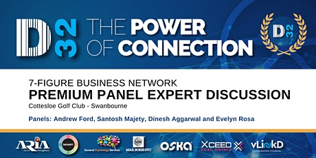 District32 Connect Premium Business Lunch - Panel Expert Discussion - Thu 27th Feb tickets