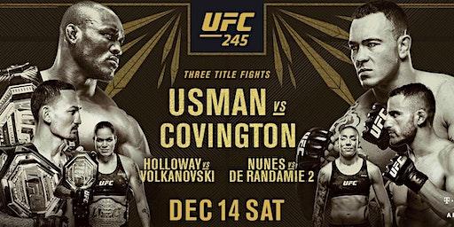 UFC  245 Free Showing