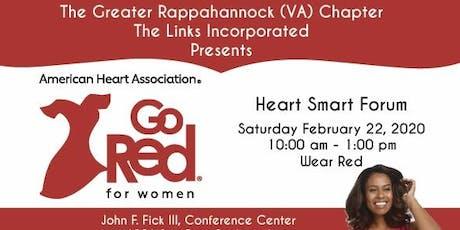 Go Red for Women Heart Smart Forum 2020 tickets