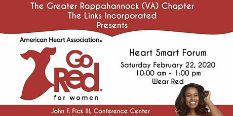 Go Red for Women Heart Smart Forum 2020 tickets
