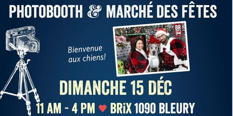 Photomaton des fêtes \ Holiday Photobooth tickets