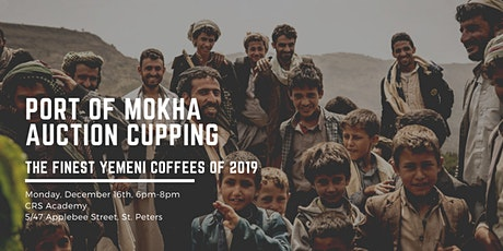Port of Mokha Auction Cupping tickets