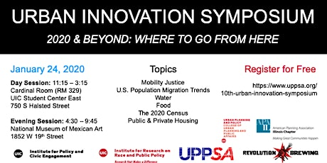2020 Urban Innovation Symposium tickets