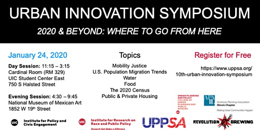 2020 Urban Innovation Symposium