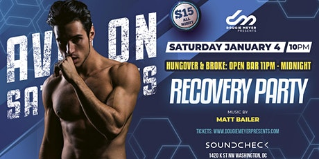 AVALON Saturdays - Open Bar Recovery Party w/ Matt Bailer tickets