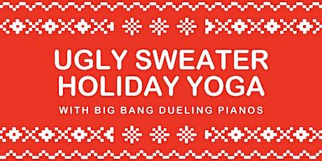 2nd Annual Holiday Yoga Experience at The Big Bang Dueling Piano Bar! tickets