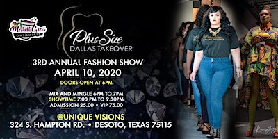 Plus Size Dallas Takeover 3rd Annual Fashion Show