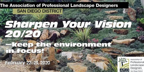 SAVE THE DATES: Sharpen Your Vision 20/20–keep the environment in focus! tickets