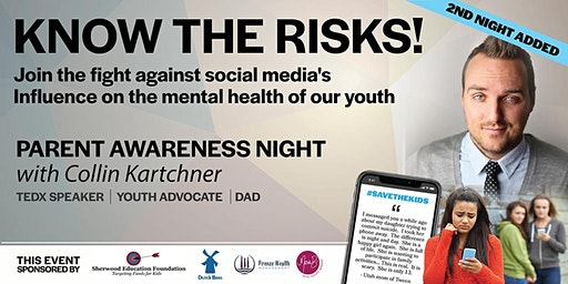 Parent Awareness Night #2 with Collin Kartchner ~ #SavetheKids