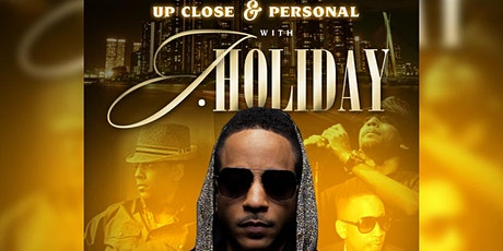 UP CLOSE AND PERSONAL WITH J HOLIDAY tickets