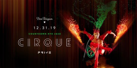 NYE 2020  - Cirque tickets