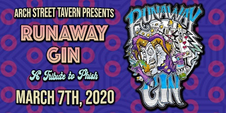 Runaway Gin at Arch Street Tavern tickets