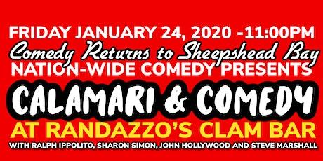 Calamari & Comedy Show tickets