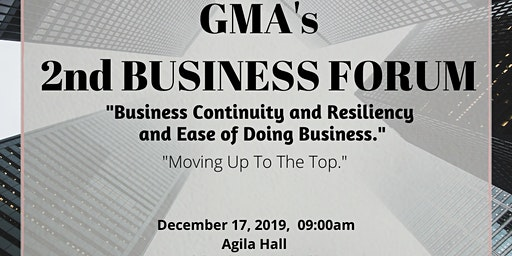 2ND GMA BUSINESS FORUM 2019