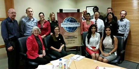 Sproule Toastmasters Club Lunchtime Meeting - Downtown Calgary - Every 2nd and 4th Tuesday of the month tickets