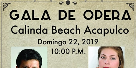 Gala De Opera boletos