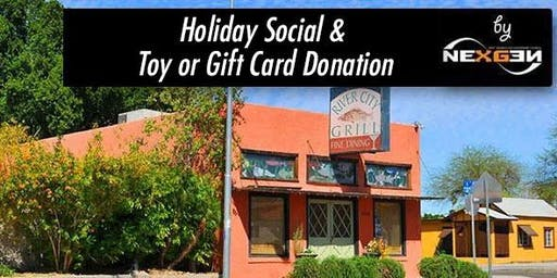 NexGen Holiday Social, Ugly Sweater & Food Bank Christmas Donations